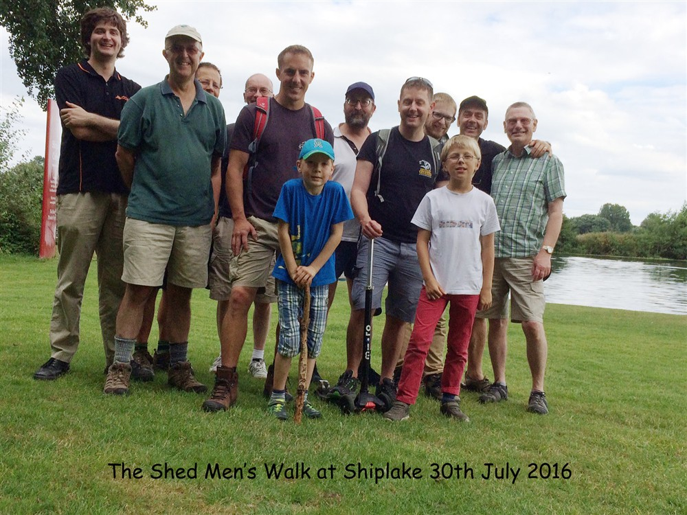 The Shed Walk at Shiplake 30Ju