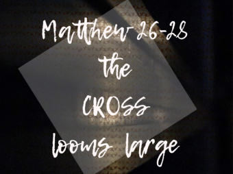 The Cross Looms Large