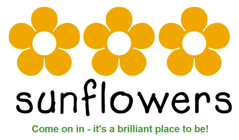 sunflowers full logo